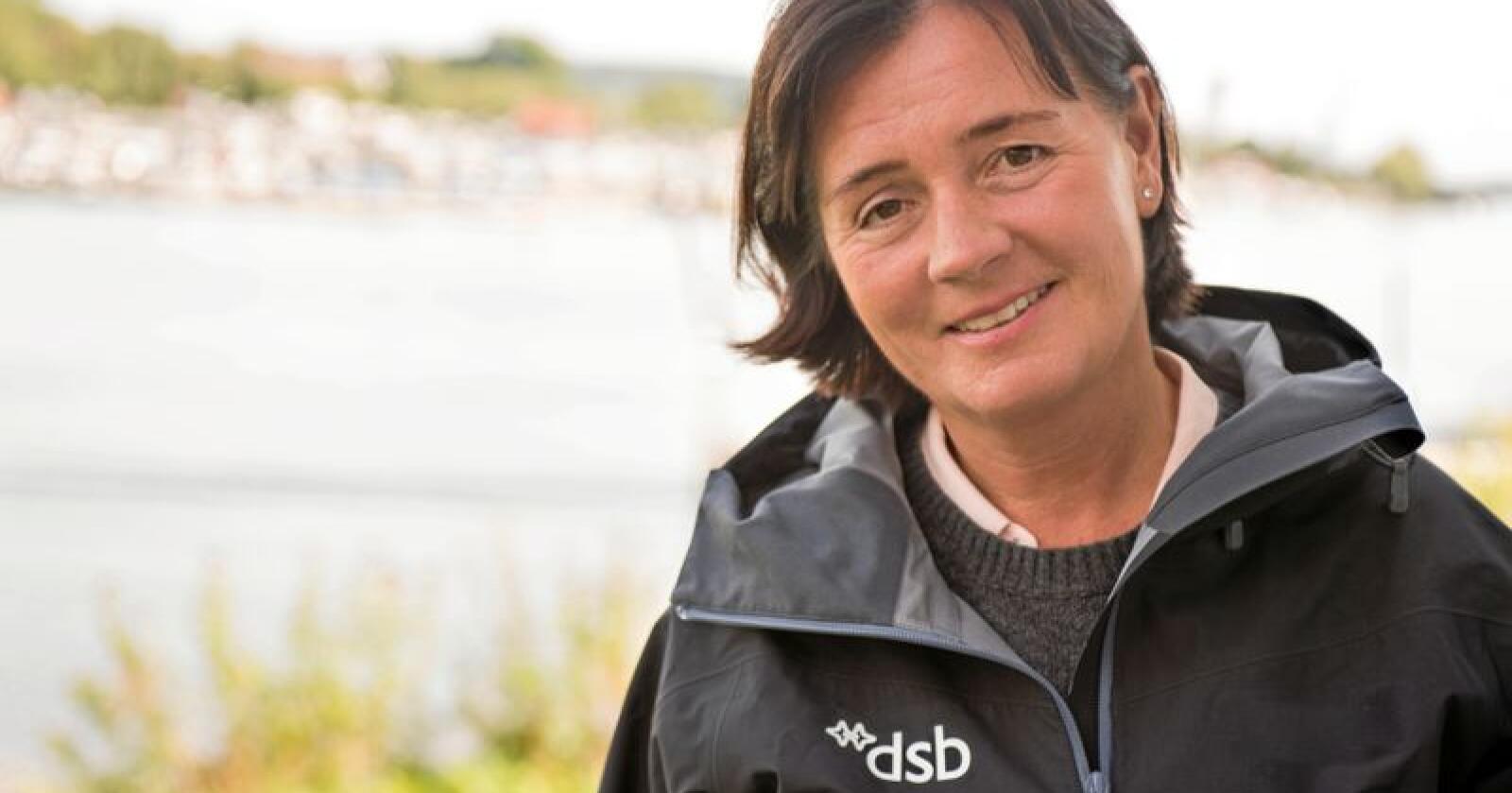 Cecilie Daae, direktør i Direktoratet for samfunnssikkerhet og beredskap håper at beredskapsuka 2019 vil gjøre befolkninga mer rusta i krisesituasjoner. Foto: Yann Aker/DSB
