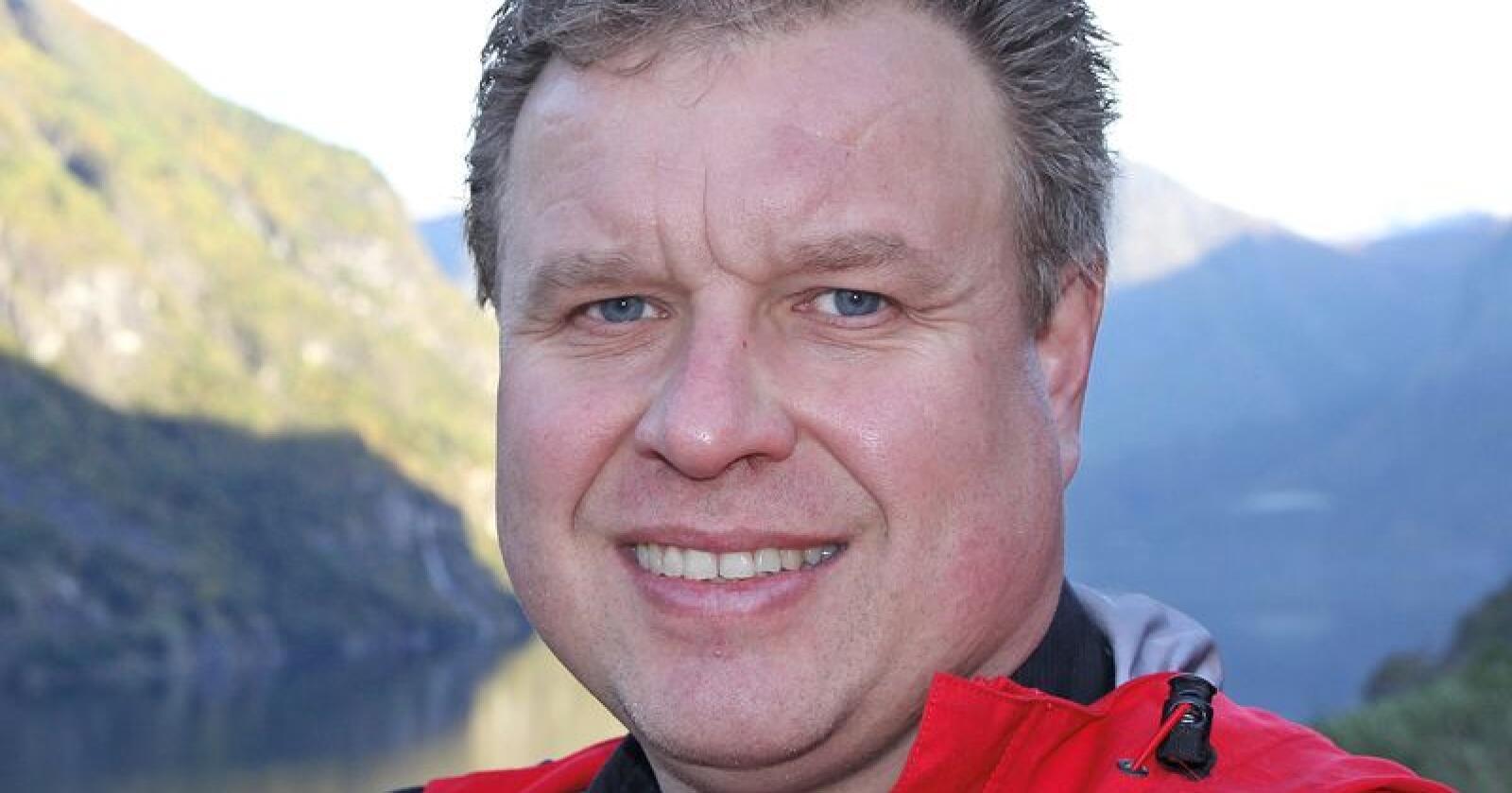 Brigt Olav Samdal (Foto: Arne Søiland, NVE)