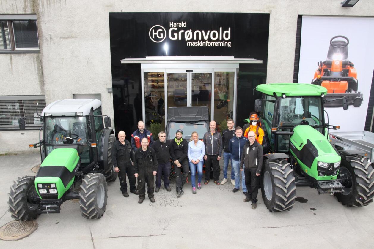 Det seksti år gamle landbruksverkstedet Harald Grønvold AS går fra å selge Kubota og Svenningsens-produkter til å bli HCP-forhandler.