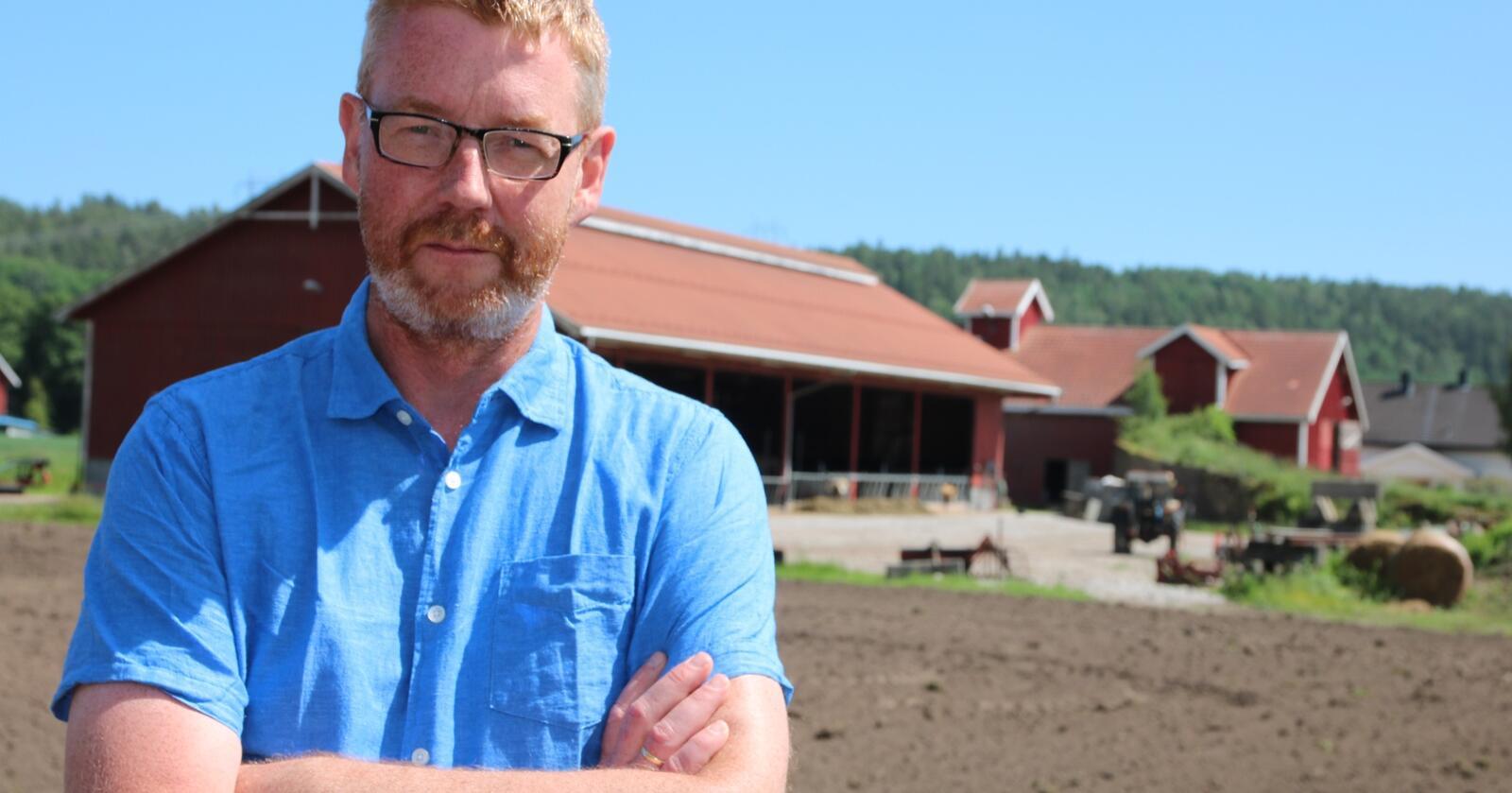 Hjemme hos Bjørn GimmingBjørn GimmingLeder i Norges Bondelag
