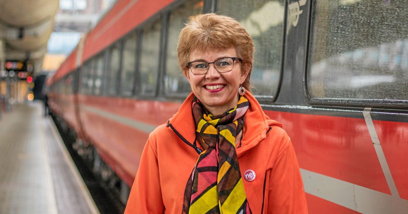 Leder i Nei til EU, Kathrine Kleveland, tror koronakrisen er en viktig faktor for at EØS-motstanden igjen er i vinden. Foto: Nei til EU