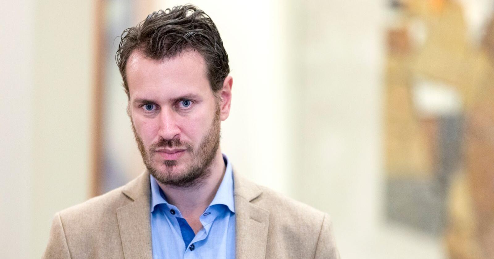 Helge Andre Njåstad (Frp). Foto: Gorm Kallestad / NTB