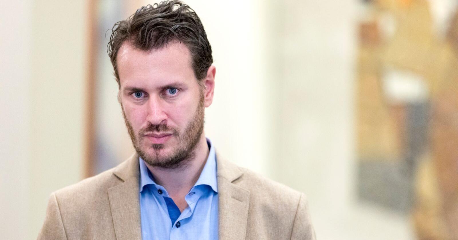 Helge André Njåstad (Frp), første nestleder i kommunalkomiteen på Stortinget. Foto: Gorm Kallestad / NTB