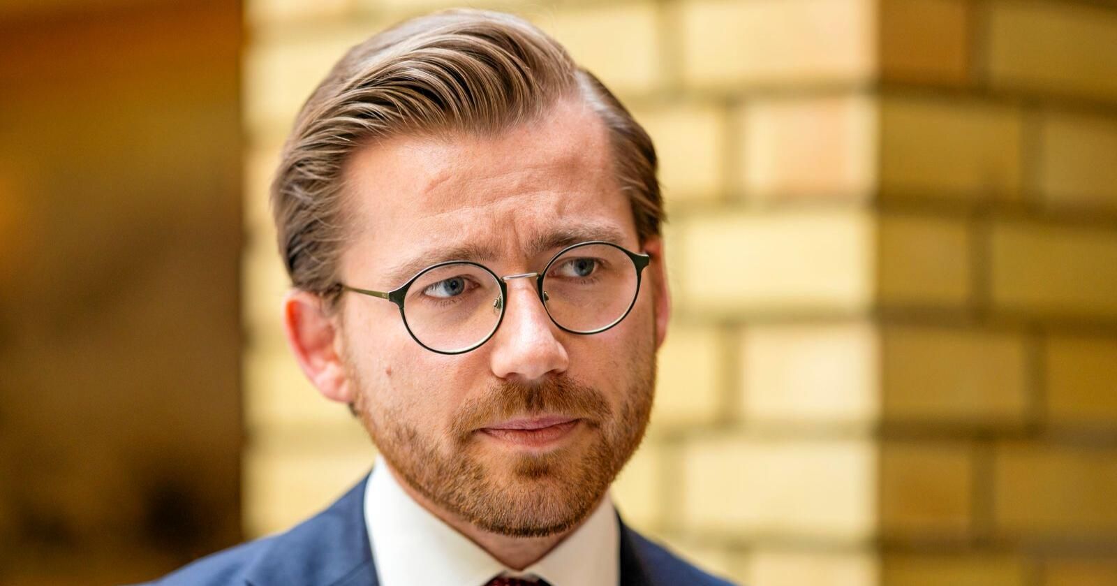 Får kritikk: Klima- og miljøminister Sveinung Rotevatn (V). Foto: Håkon Mosvold Larsen / NTB scanpix