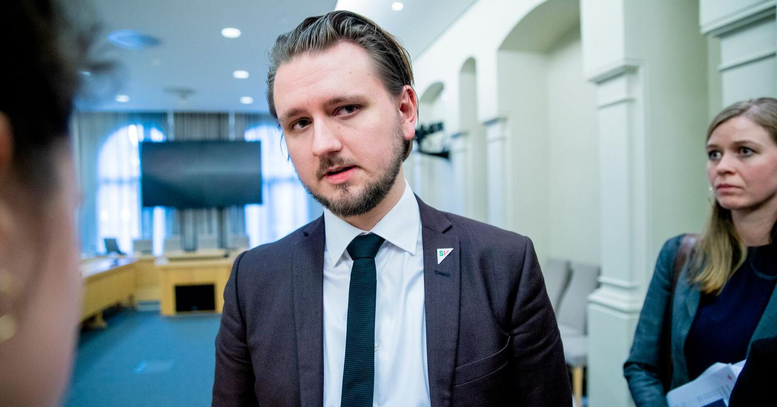 SVs Freddy André Øvstegård sitter i Stortingets kontroll- og konstitusjonskomité. Foto: Stian Lysberg Solum / NTB scanpix
