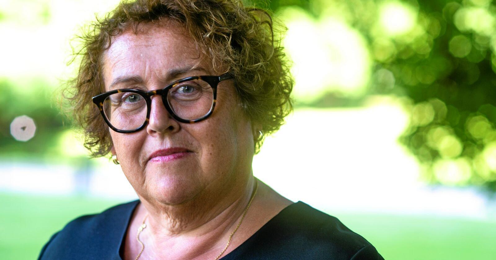 Får kritikk: Landbruksminister Olaug Bollestad. Foto: Annika Byrde / NTB scanpix