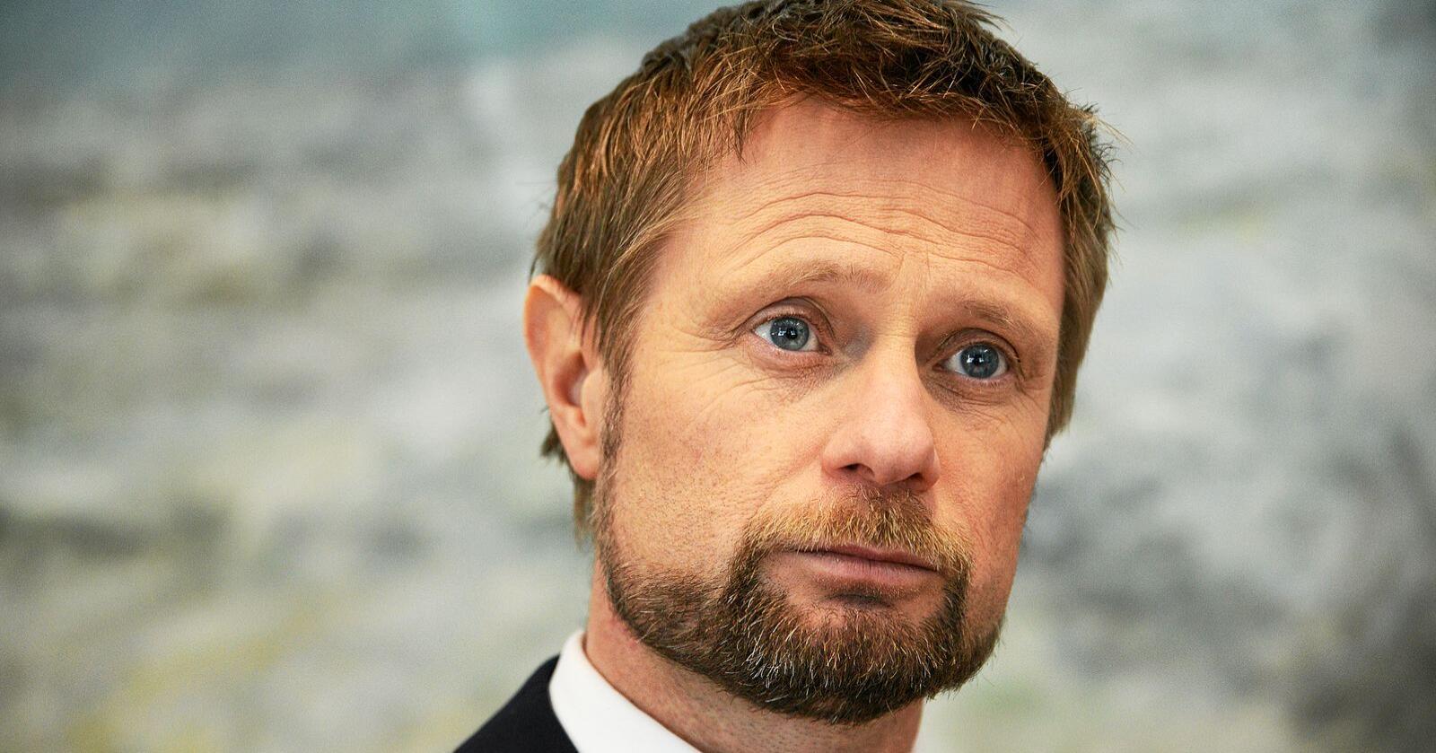 Helseminister Bent Høie (H). Foto: Siri Juell Rasmussen
