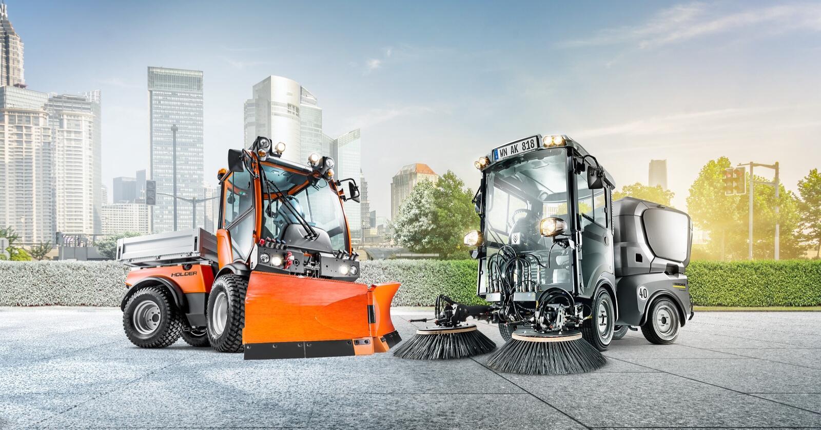 Oppkjøp: Kärcher Gruppen kjøpte firmaet Max Holder GmbH i 2019. Nå får maskinene felles importør i Norge, som blir Nellemann Machinery