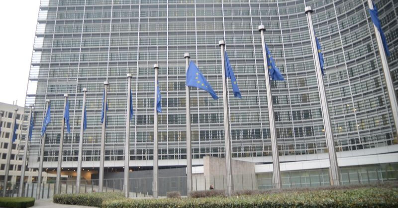 Utenriksdepartementet jakter en ny spesialutsending for matvareproduksjon. Arbeidsstedet vil være EU-delegasjonen i Brussel. På bildet sees EU-Kommisjonen i byen. Foto: Linda Sunde