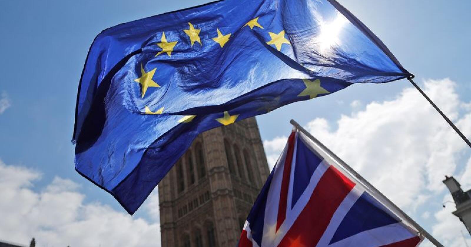 Til mange brexit-tilhengeres store skuffelse må Storbritannia holde valg til nytt EU-parlament 23. mai. Foto: AP / NTB scanpix