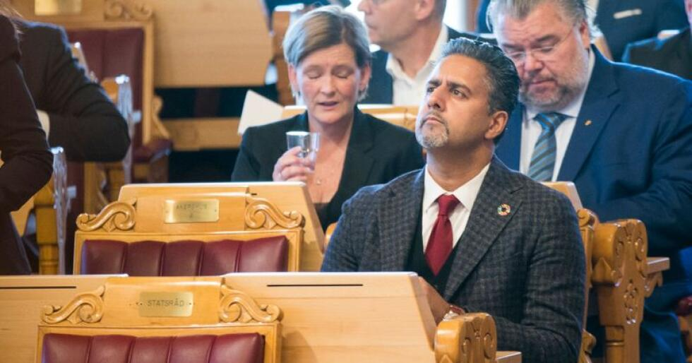 Abid Raja bekrefter at han ønsker seg en plass i partiledelsen til Venstre. Foto: Terje Pedersen / NTB scanpix