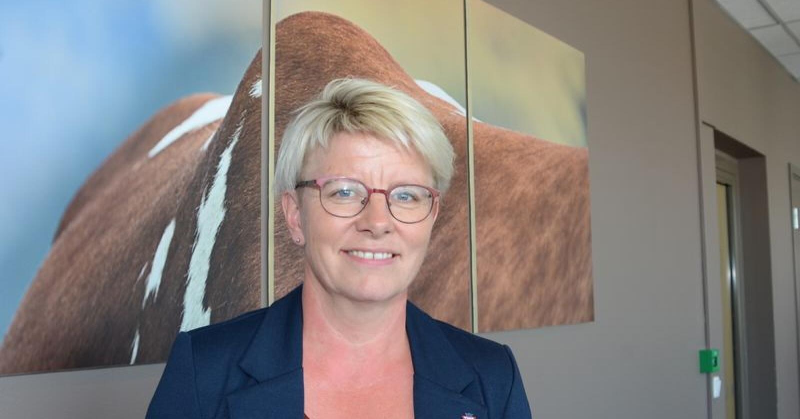 Likt: Utkjøpsprisen bør være lik for alle, mener Marit Haugen, styreleder i Tine. (Foto: Linda Sunde)