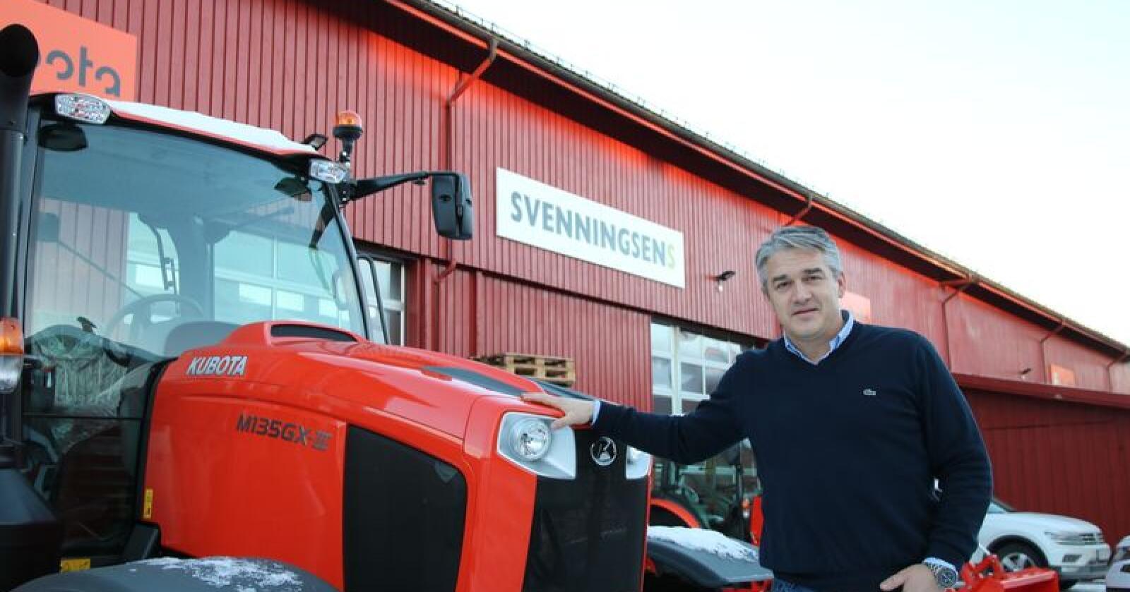 Kjetil Nilsson er daglig leder i tidligere Svenningsens Maskinforretning, nå Nellemann Machinery AS. (Arkivfoto)