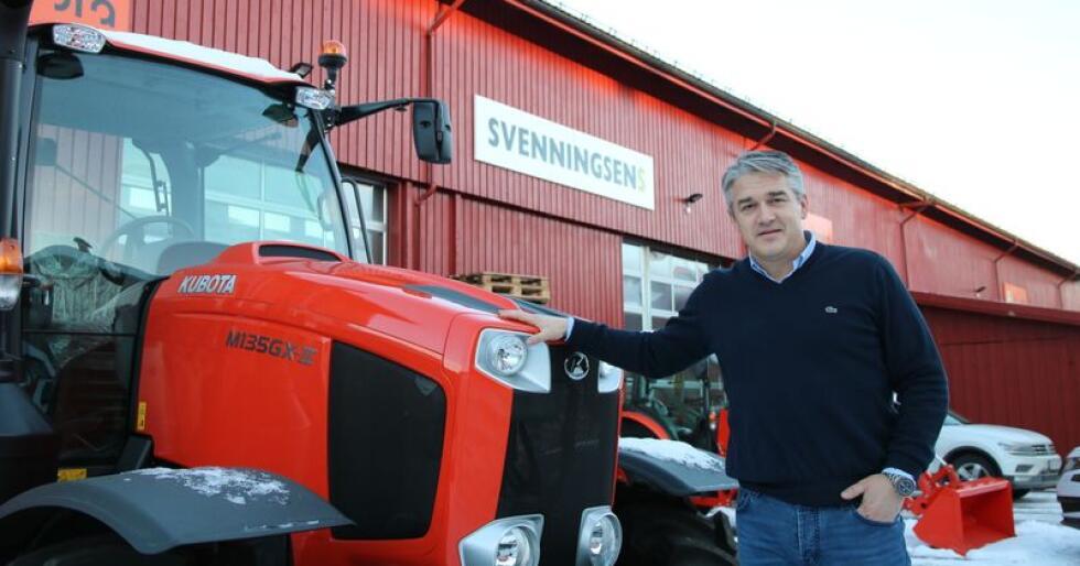Kjetil Nilsson er ansatt som daglig leder hos Svenningsens. – 2019 blir et år for å stabilisere organisasjonen, sier han.