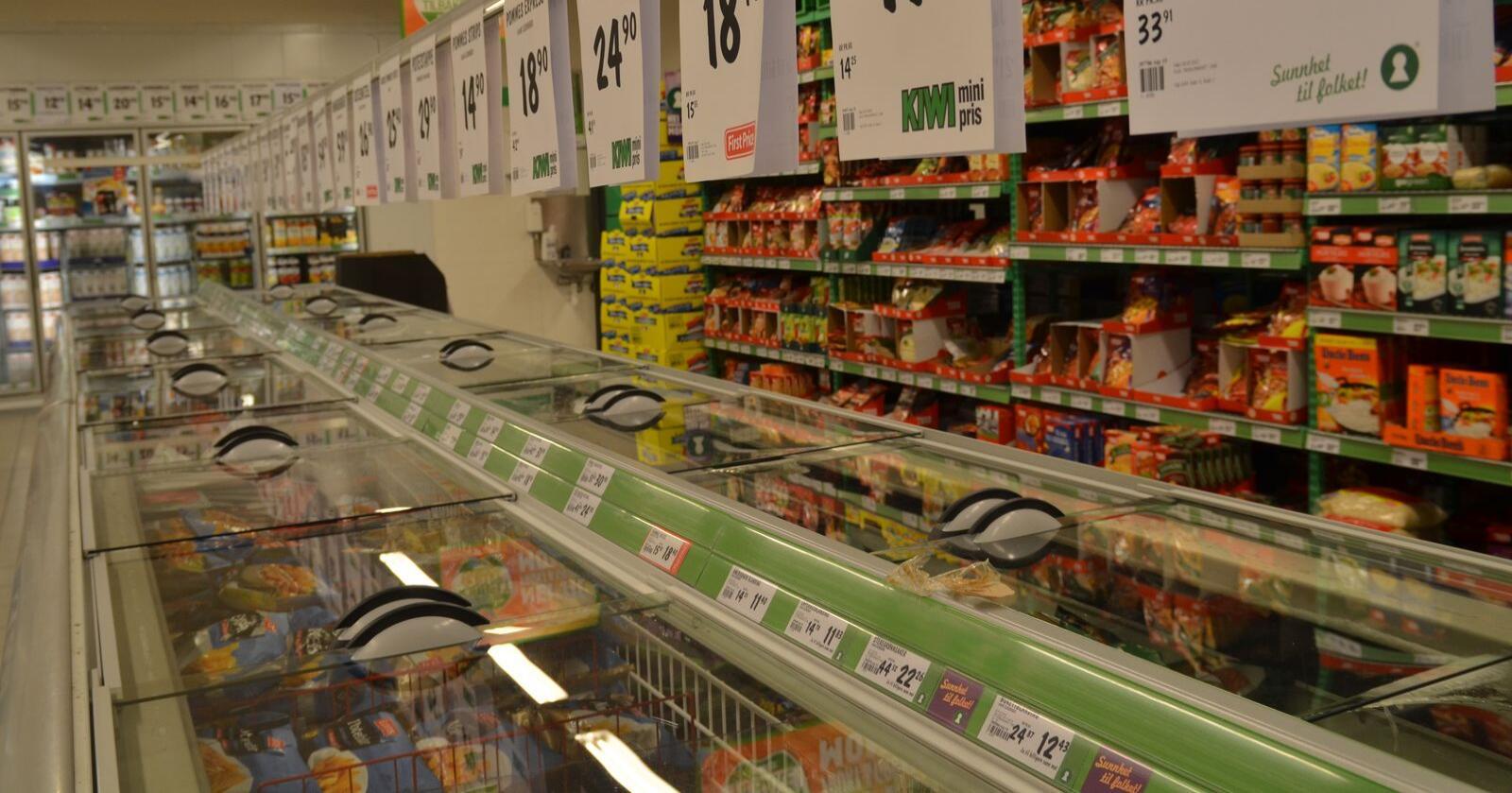 Den samlede omsetningen i dagligvarebransjen var på 45,2 milliarder kroner i første kvartal 2020. (Foto: Karl Erik Berge)