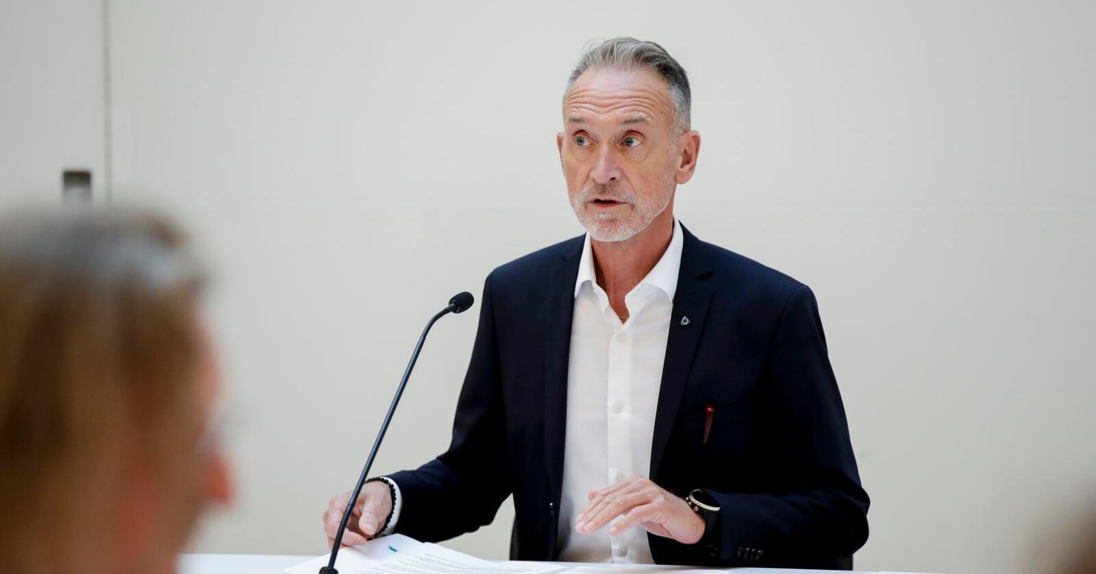 Arbeidslivsdirektør Tor Arne Gangsø er forhandlingsleiar for KS. Foto: Vidar Ruud / NTB