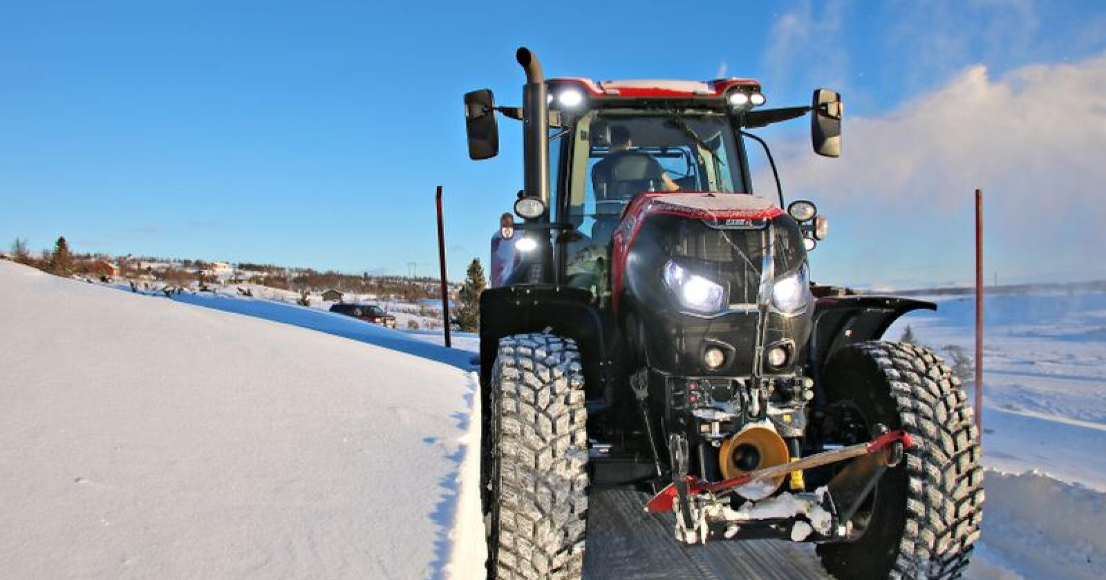 Foto: Arkivfoto, Traktor
