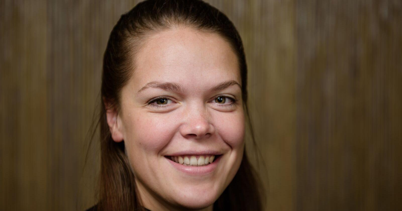 Vilde Haarsaker er ny assisterende generalsekretær i NBS. Foto: John Trygve Tollefsen