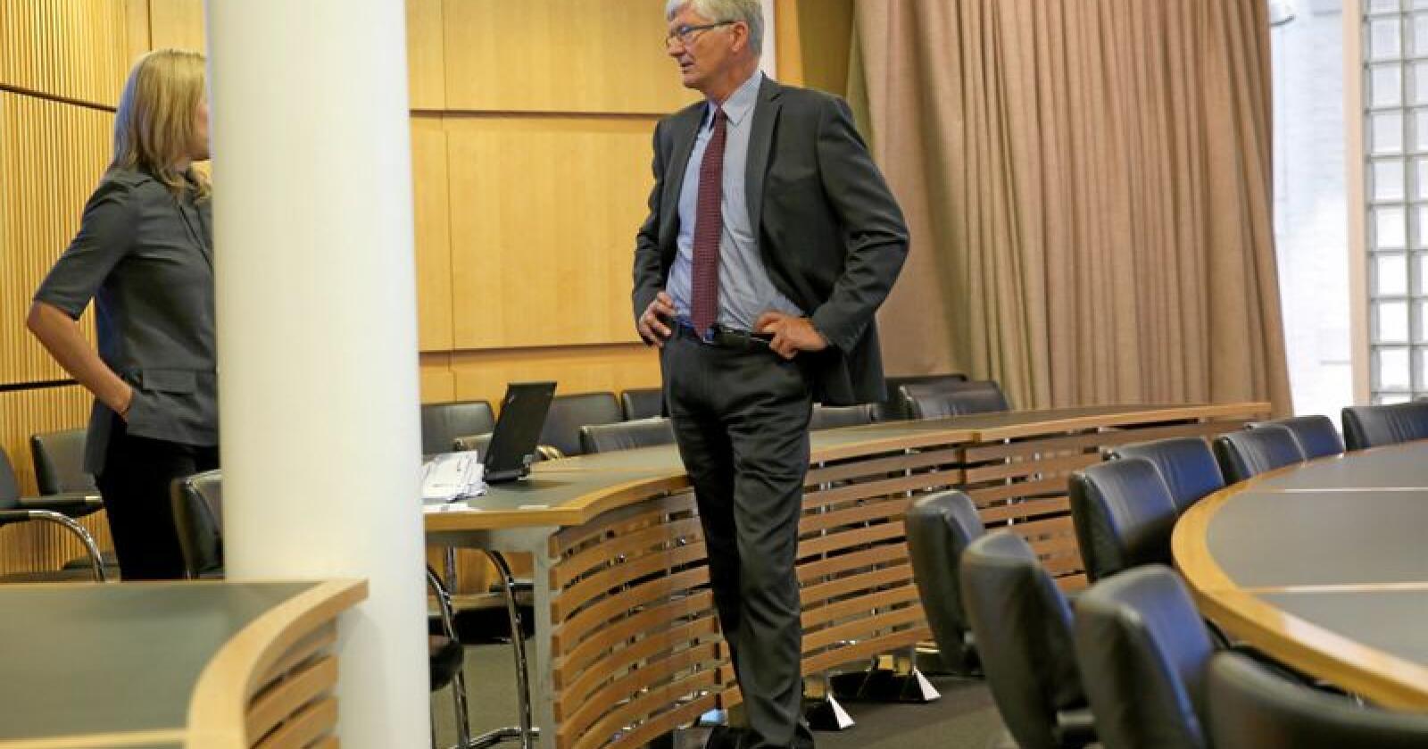Kalkulator: Samfunnsøkonom Steinar Juel i i Civita har regnet på Nord-Norgebanen. Foto: Vidar Ruud/NTB scanpix