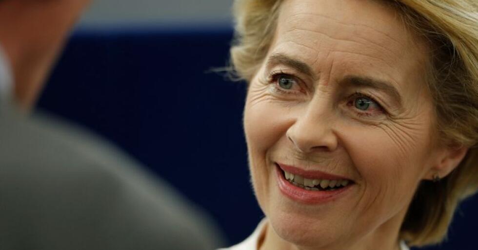 Ursula von der Leyen er kandidat til å etterfølge Jean-Claude Juncker som president for EU-kommisjonen. Foto: AP Photo/Jean-Francois Badias/NTB Scanpix