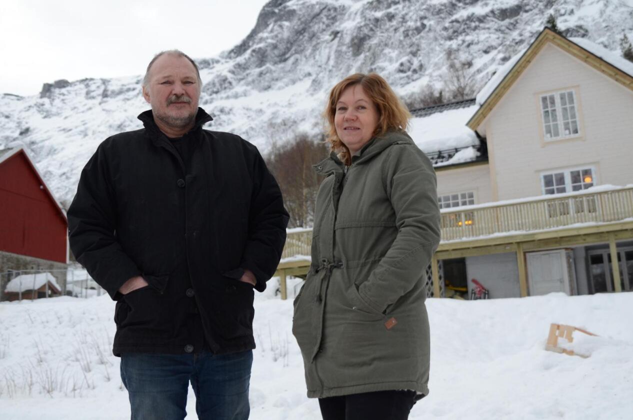 Jørgen og Gunn Sogge har drevet gård under mannen i 20 år. Det som startet som et småbruk er nå den største gården i Rauma kommune.
