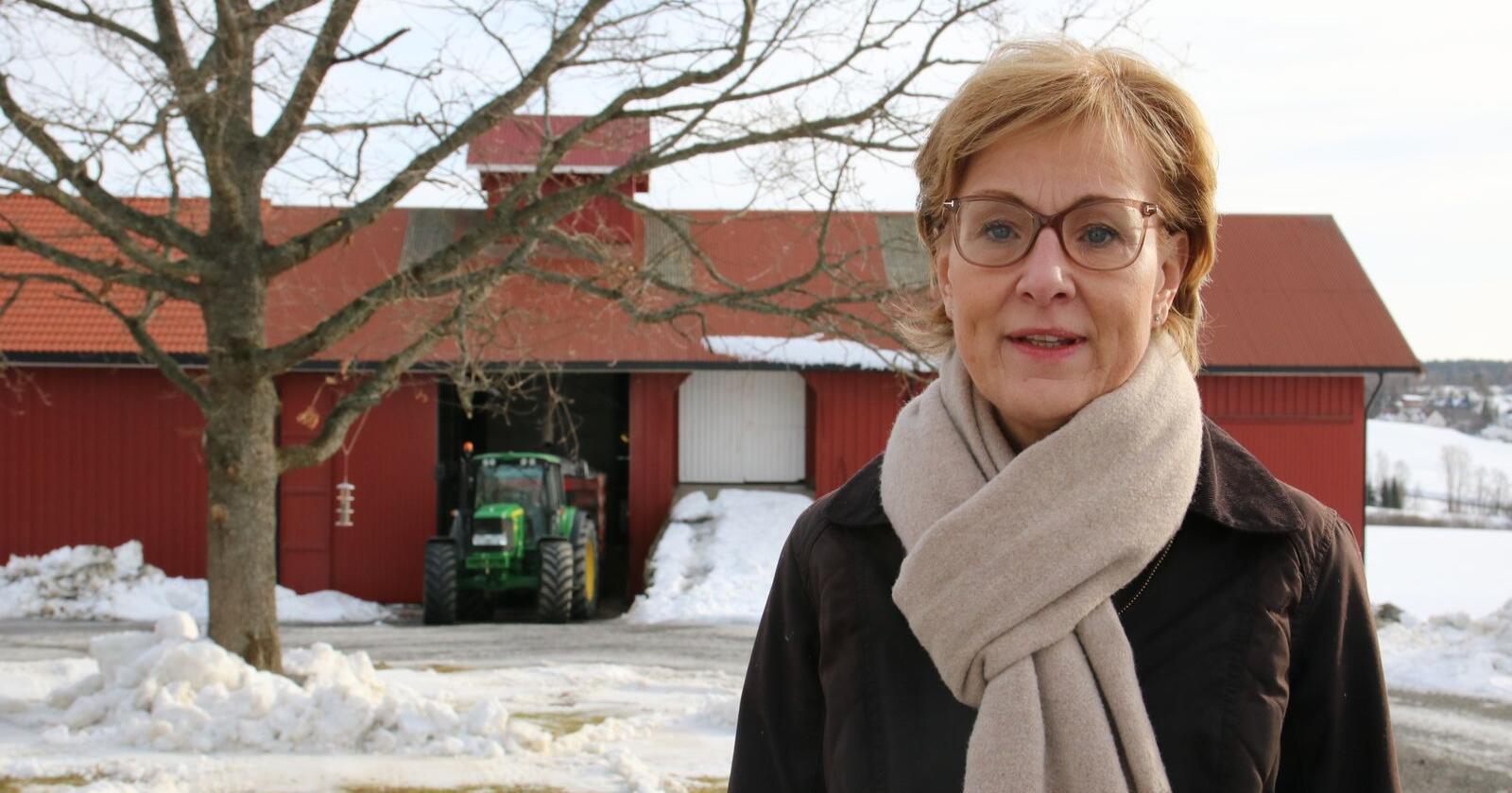 Sigrid Hjørnegård, generalsekretær i Norges Bondelag. (Arkivfoto: Karl Erik Berge)