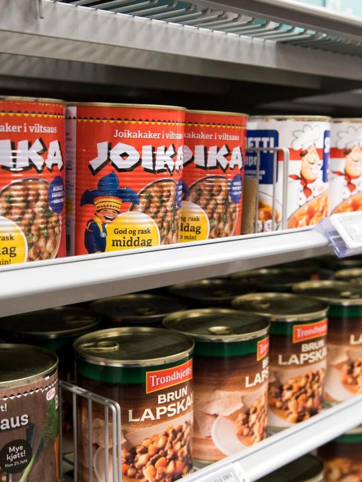 Gourmetmat frå boks? For dei som vil ha det enkelt, er det iallfall mykje middagshermetikk å velje mellom. Illustrasjonsfoto: Terje Pedersen / NTB / NPK