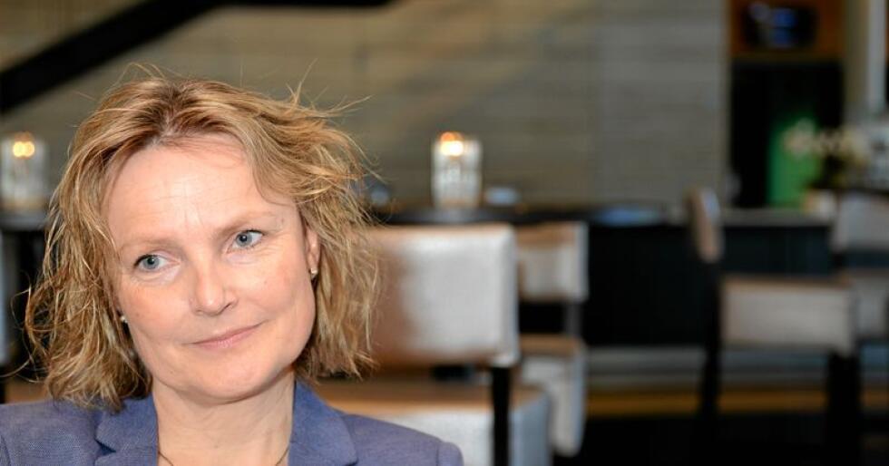 Styreleder i Nortura, Trine Hasvang Vaag. Foto: Siri Juell Rasmussen