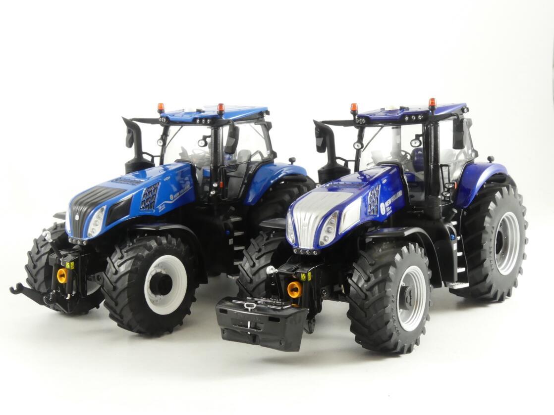 Flere modeller fra New Holland modeller har nylig kommer ut. Her er T8 i ulike farger. Foto: Marcus Pasveer