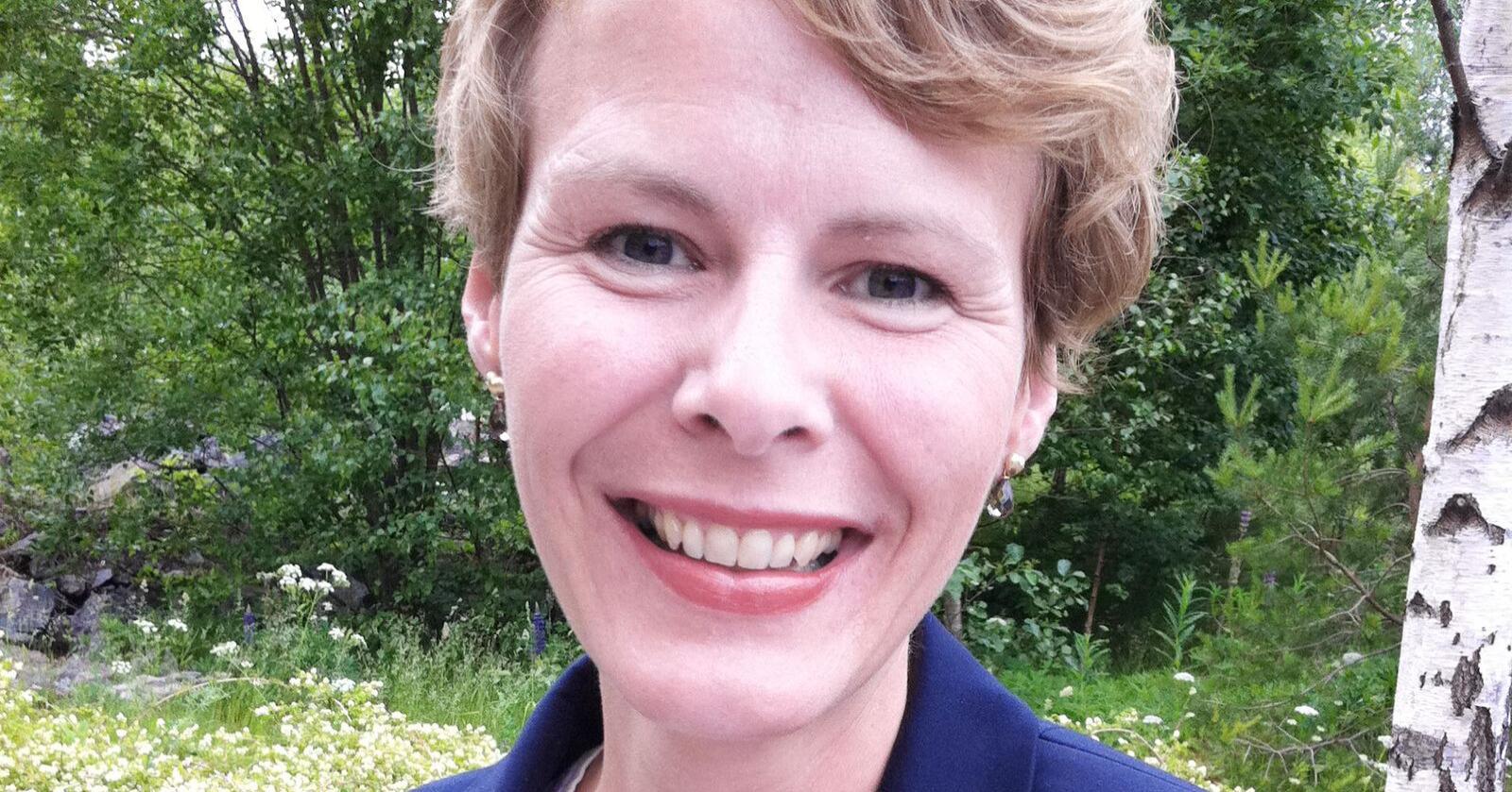 Kristin Malonæs gleder seg stort til å ta fatt på oppgavene i Geno og ser frem til å videreutvikle selskapet i tett samarbeid med de ansatte og styret. Foto: Innovasjon Norge