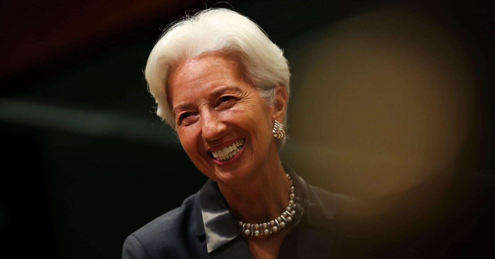 Ingen overraskelser da ESB og sentralbanksjef Christine Lagarde lot renten være uendret torsdag. Foto: Francisco Seco / AP / NTB scanpix