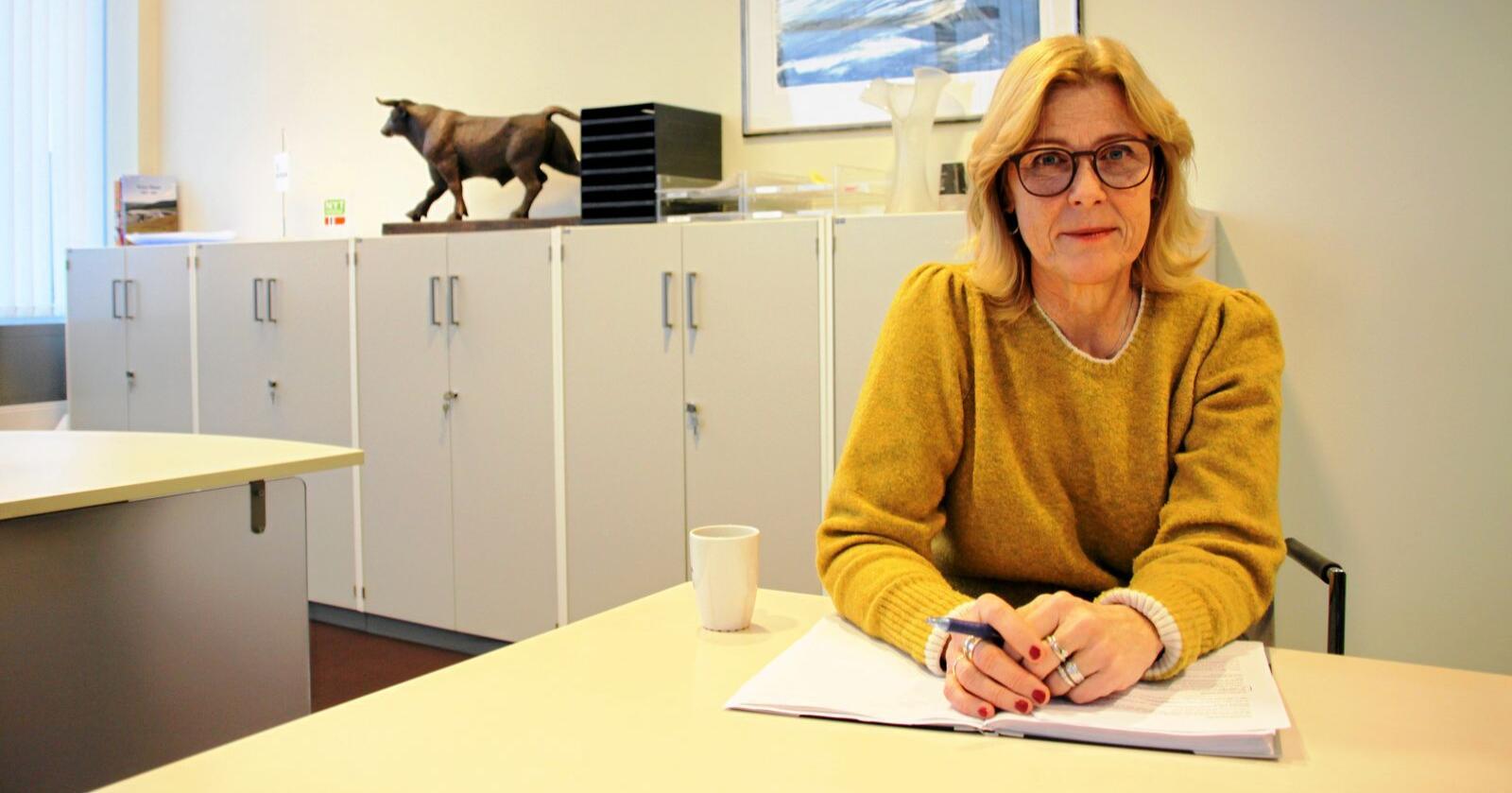 Skal snu Nortura-skuta: Anne Marit Panengstuen er konsernsjef i Nortura. Foto: Christiane Jordheim Larsen