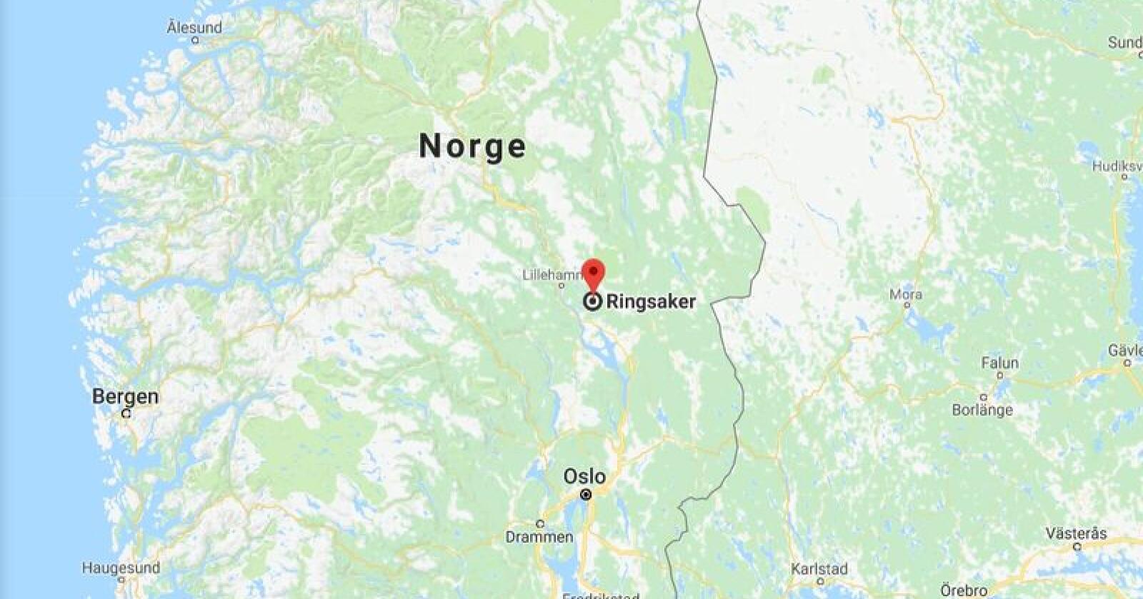 Skjermdump: Google Maps