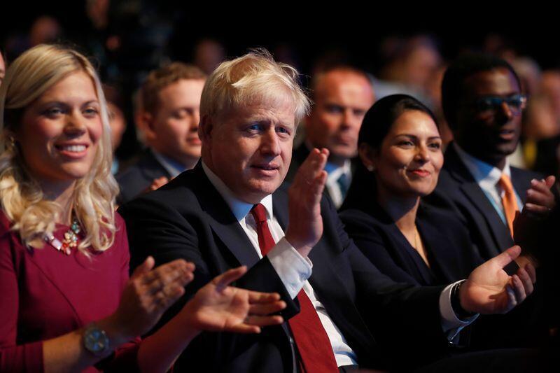 Statsminister Boris Johnson kan komme med store nyheter i dag. Foto: Frank Augstein / AP / NTB scanpix