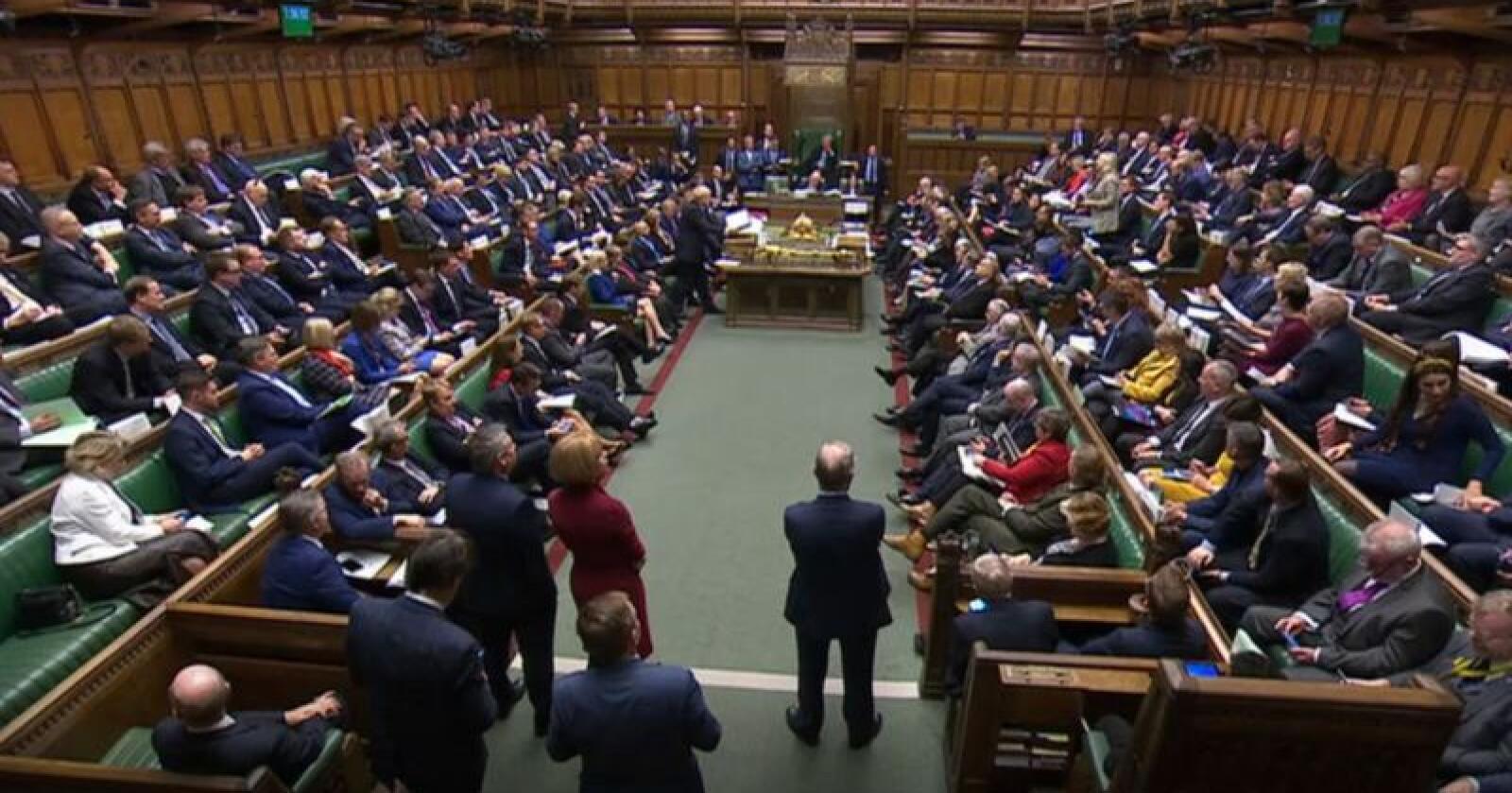 Det britiske Underhuset har stemt for Boris Johnsons brexitplan. Foto: AP / NTB scanpix