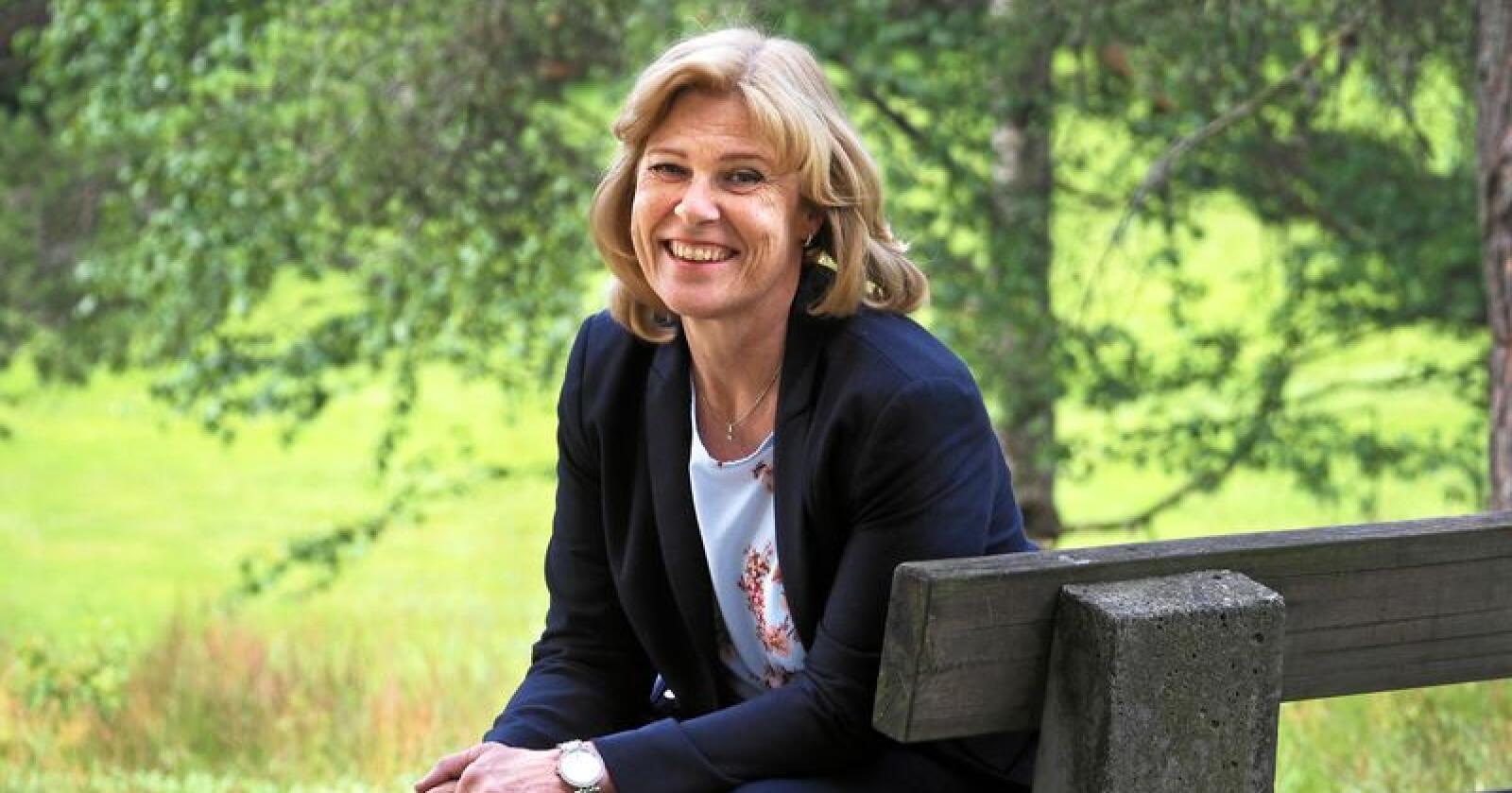 Anne Marit Panengstuen tiltrer som ny konsernsjef i Nortura SA fra 1. september. Hun kommer fra Siemens. Foto: Siri Juell Rasmussen