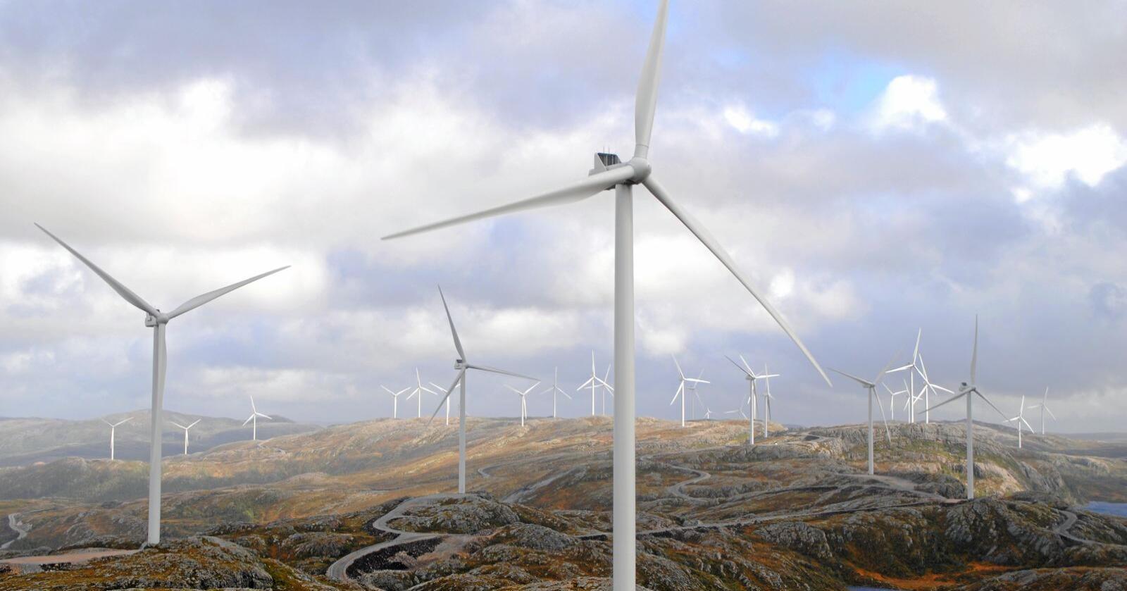 For vindkraft ligger Norges natur klar for utbygging med solide subsidier og utsikter til mye og rask profitt, skriver innsenderen. Foto: Lars Bilit Hagen