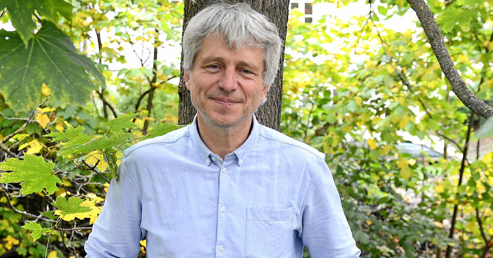 Daglig leder i Økologisk Norge, Børre Solberg, mener det nye regelverket vil øke tilliten til økologiske produkter hos forbrukerne. Foto: Siri Juell Rasmussen
