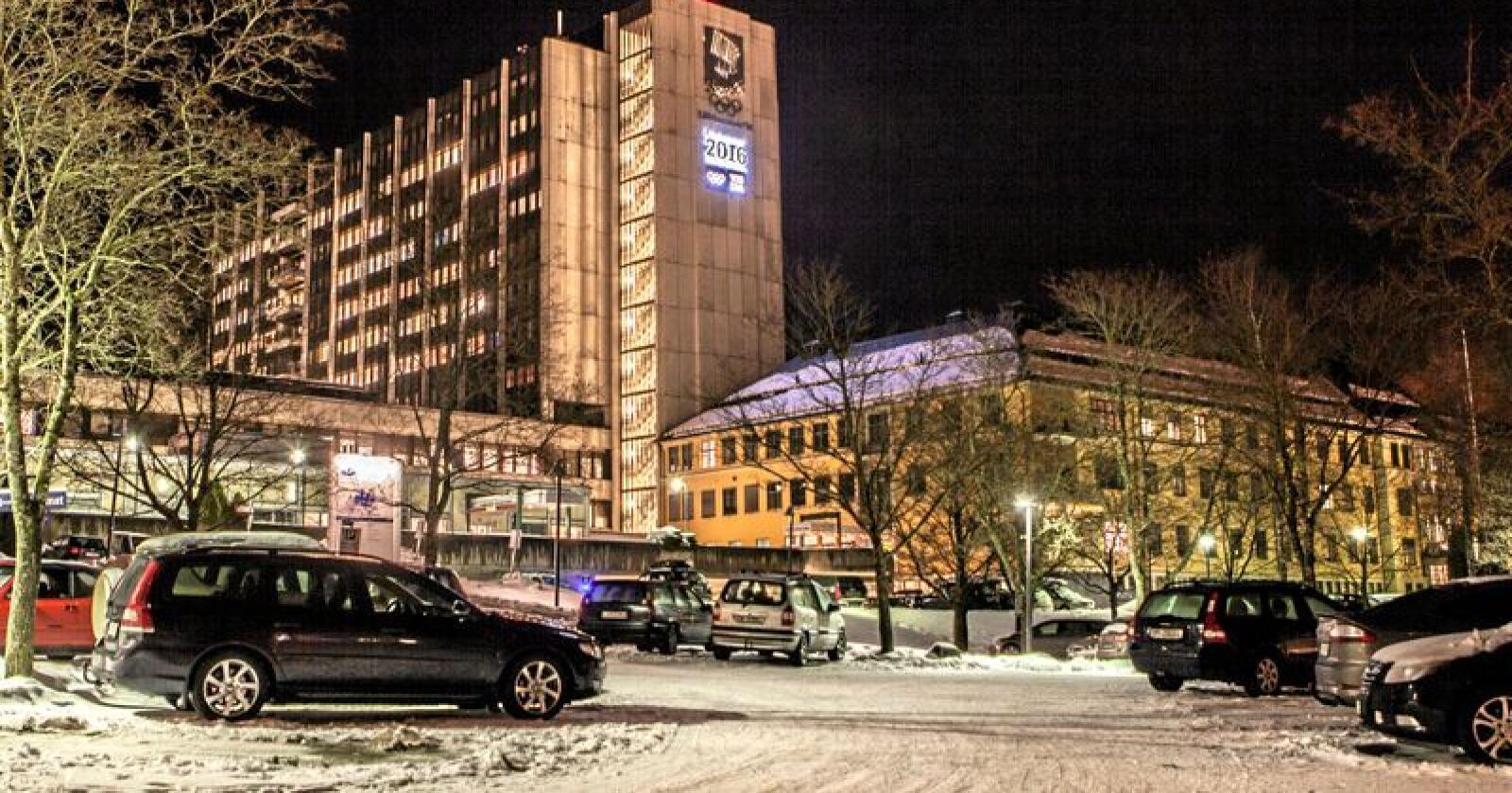 Kan bli lagt ned: Sykehuset på Lillehammer. Planen er å bygge et nytt, stort Mjøssykehus. Foto: Paul Kleiven / NTB scanpix