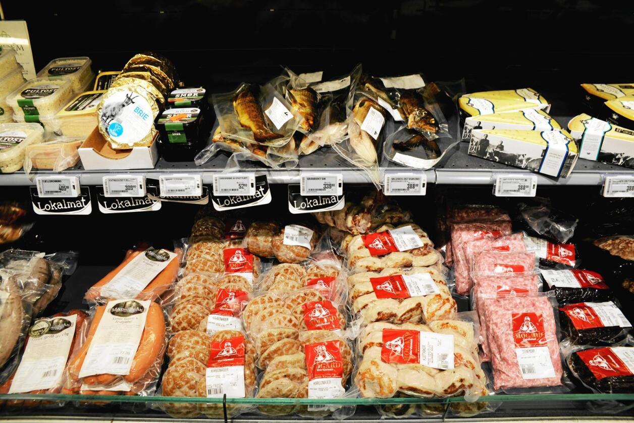 EU får økte tollfrikvoter på ost og storfekjøtt. Det kan gi billigere EU-produkter i disken til fordel for norsk mat. Foto: Mariann Tvete