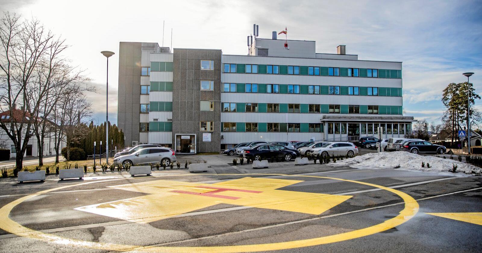 Innsenderen mener Sykehuset Innlandet bør utvide her i Hamar. Foto: Stian Lysberg Solum / NTB