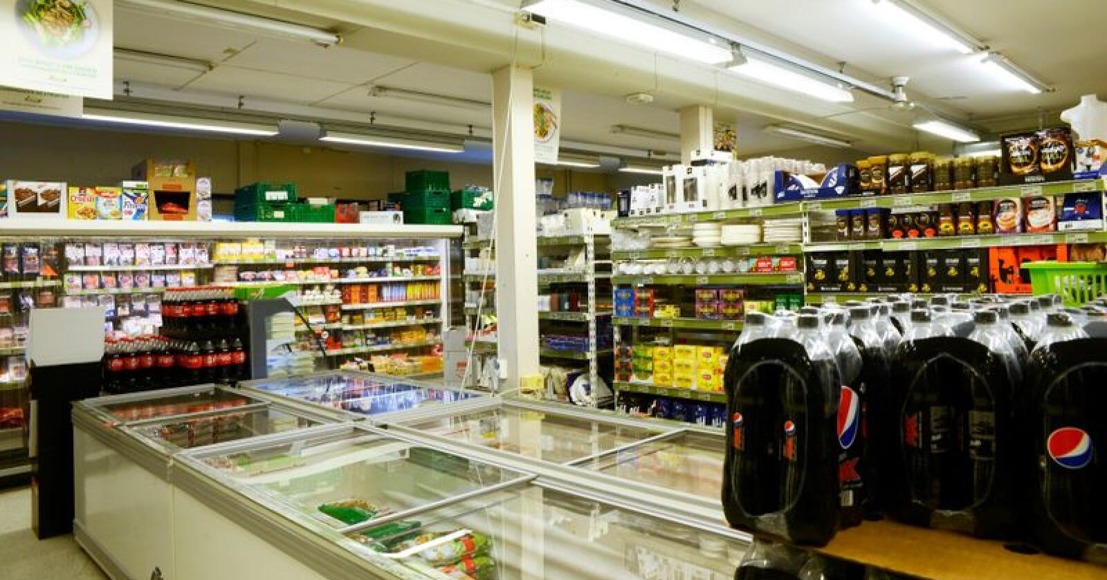 Kartleggingen dokumenterer at en rekke leverandører gir dagligvarekjedene Rema 1000, Coop og Norgesgruppen ulike innkjøpsbetingelser. Foto: Mariann Tvete