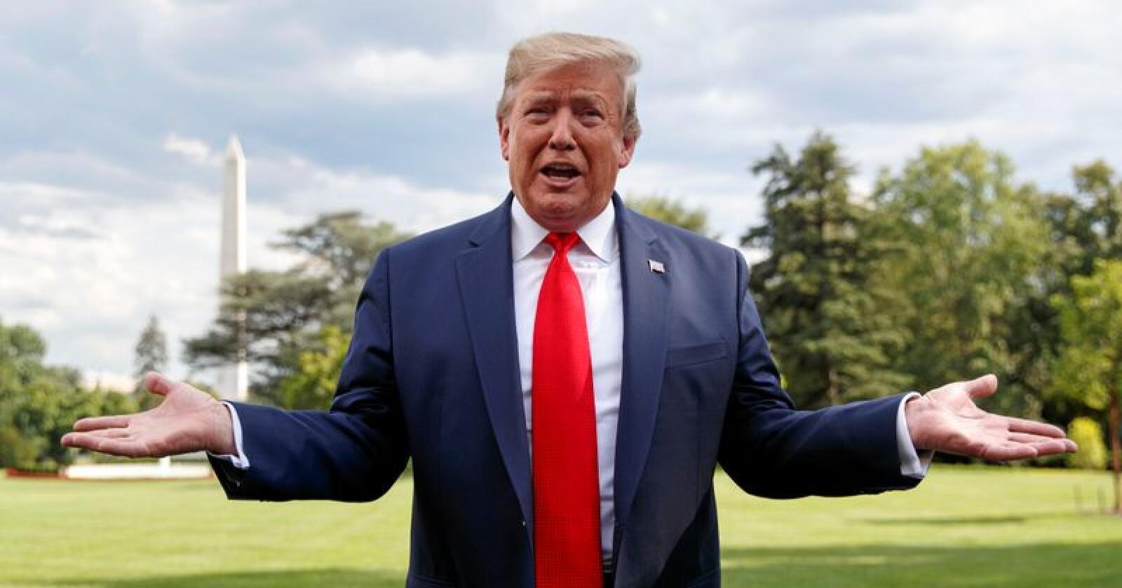 USAs president Donald Trump har lenge mislikt Kinas handelspolitikk og konflikten med landet har vart i halvannet år. Foto: AP Photo/Carolyn Kaster/NTB Scanpix