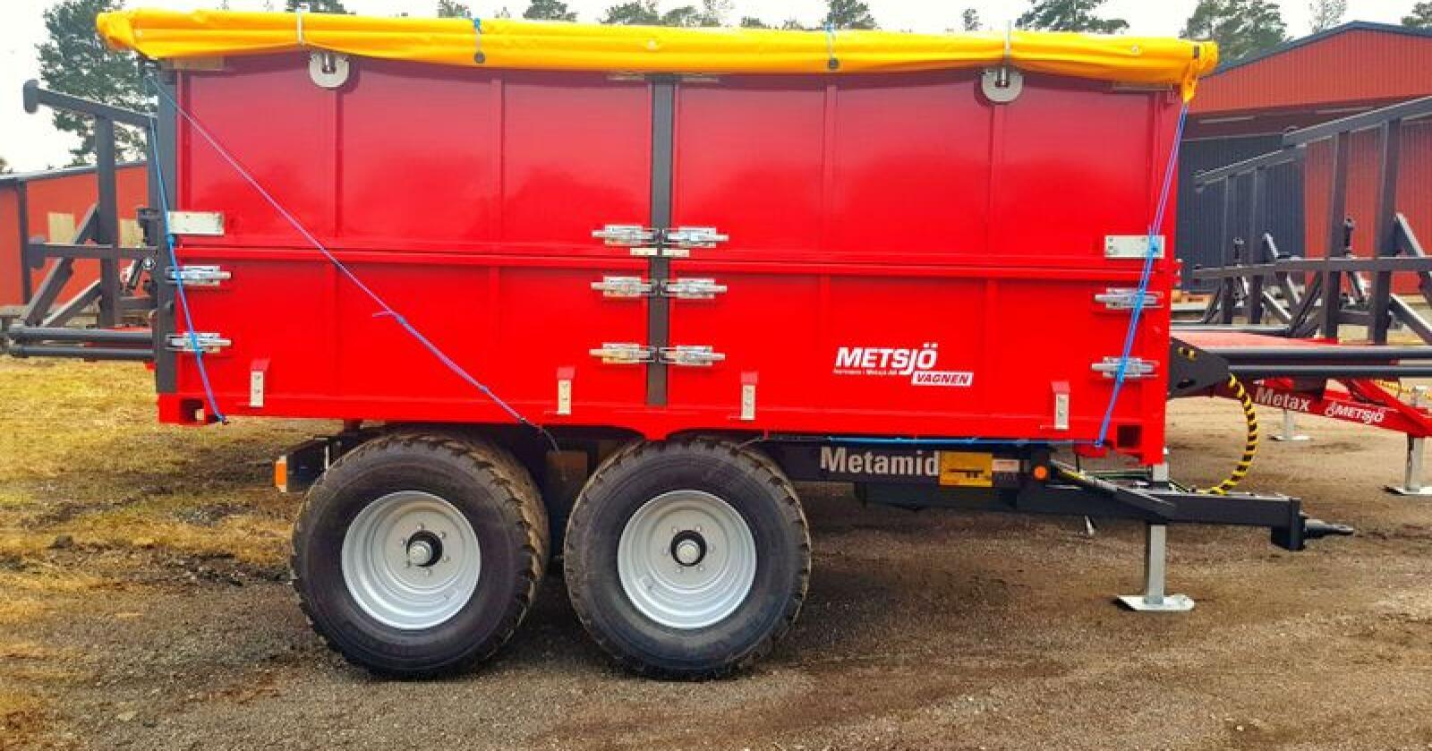 Ny versjon: MetaMid kan nå leveres med større hjul enn tidligere. Foto: Produsenten