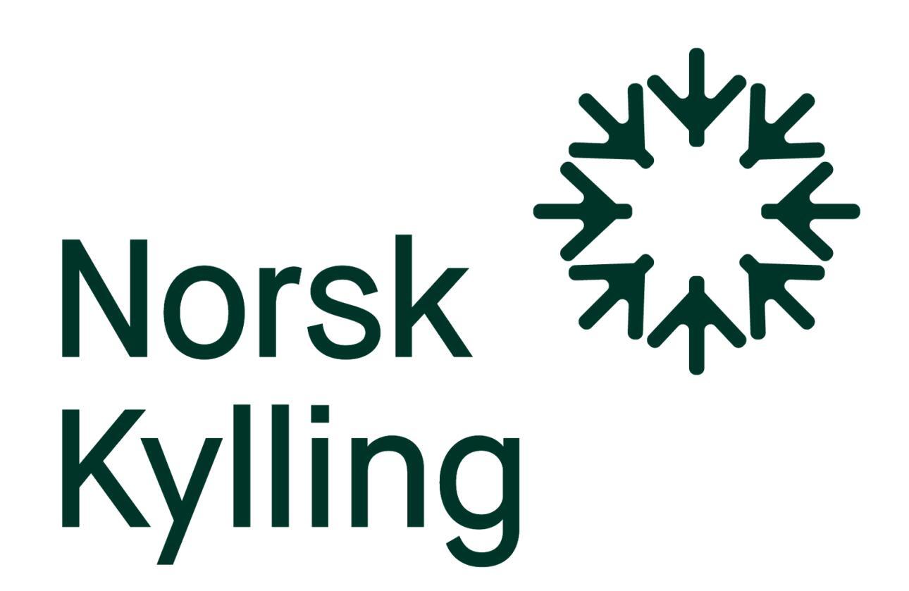 Slik ser den nye logoen til Norsk Kylling ut. Foto: Norsk Kylling