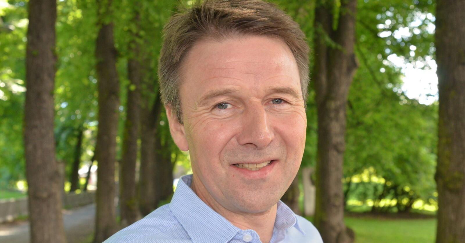 Lars Petter Bartnes, leder i Norges Bondelag.