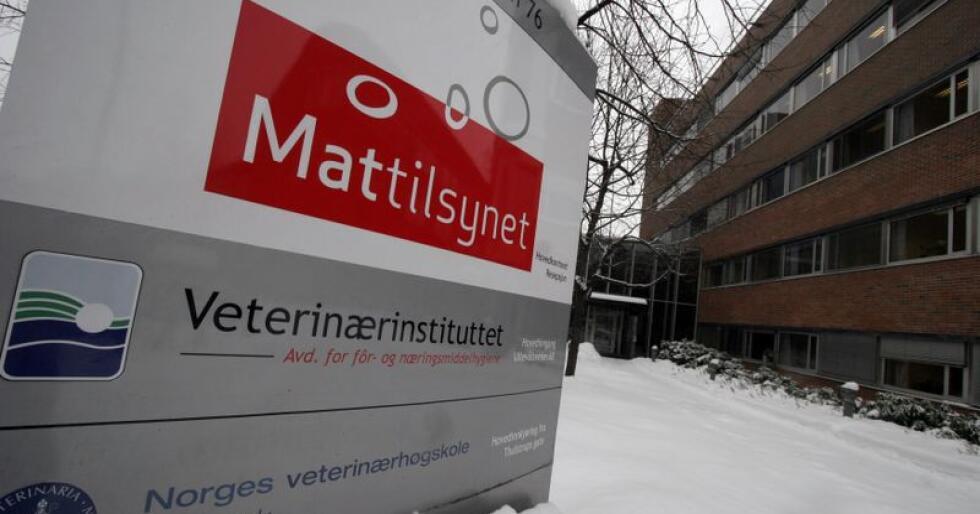 Hovedkontoret til Mattilsynet i Oslo. Arkivfoto: Jarl Fr. Erichsen / SCANPIX.