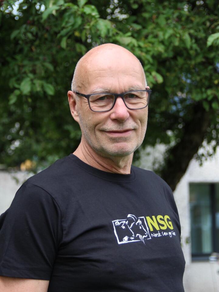 FRAMTIDAS AVL: Thor Blichfeldt har brukt de siste femten årene på å jobbe for avlsfremgang på norske sauer og geiter, basert på fenotyperegistreringer. Nå skal avlsverdiberegningene også baseres på genetiske markører.