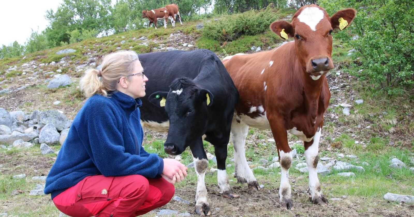 Lise Kaldahl Skreddernes, leder av Finnmark Bondelag. (Arkivfoto: Karl Erik Berge)