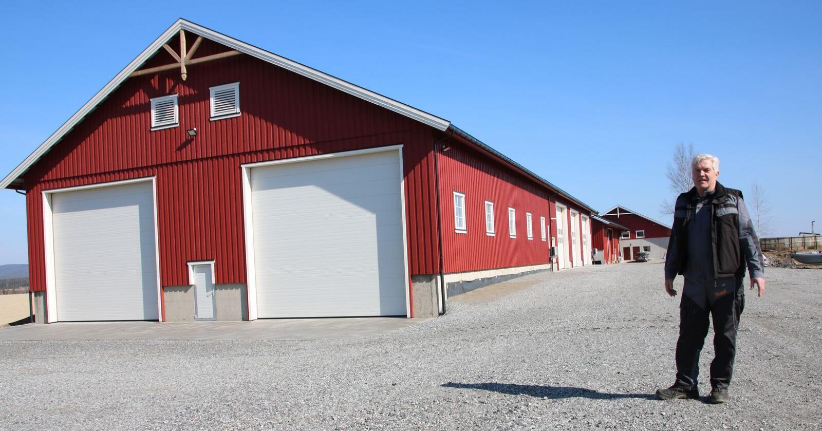 Plantørke og garasje
